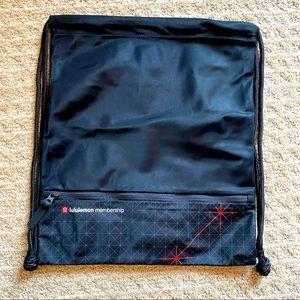 Exclusive Lululemon membership cinch backpack